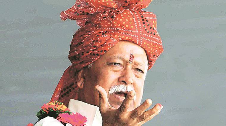 RSS annual meet in J&K , RSS chief Mohan Bhagwat,  RSS functionaries, Indian Express News