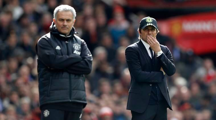 jose mourinho, antonio conte, manchester united, chelsea, manunited vs chelsea, mnachester united vs chelsea, united vs chelsea, football news, sports news, indian express