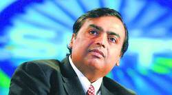 india mobile congress, mukesh ambani, sunil mittal, airtel, reliance, kumar mangalam birla, vittorio colao, indian express