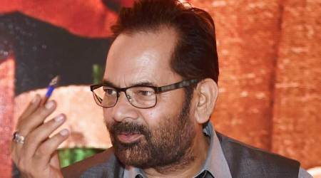 Union Minister Mukhtar Abbas Naqvi, Islamic banking, Mukhtar Abbas Naqvi, India Islamic Banking, India News, Indian Express, Indian Express News