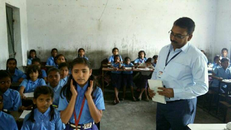 Bihar education, education in Bihar, Bihar government schools, Patna government schools, Patna govt schools revamping, Patna govt schools condition, governemnt schools, Patna DM initiative, Patna DM, Sanjay kumar agrawal, district magistration patna schools, DM teaches, Bihar education system, Bihar school, Bihar education, school inspector model, patna school inspector model, Patna school, patna District Arms Magistrate, District Magistrate Sanjay Kumar Agrawal, patna Sanjay Kumar Agrawal, latest news, patna news, Bihar news, latest india news, indian express news