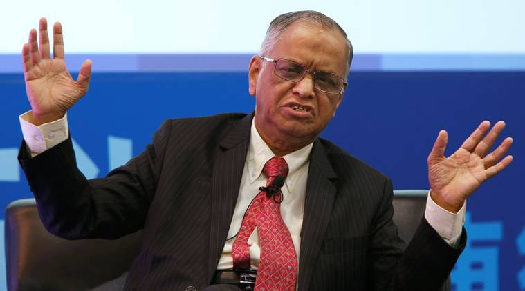 Note ban went down well with rural India: Narayana Murthy