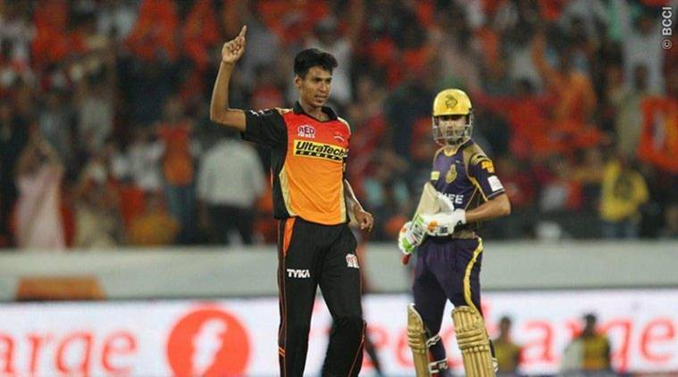 Kolkata Knight Riders beat Sunrisers Hyderabad by 17 runs