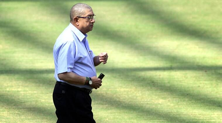 N Srinivasan, Srinivasan, N Srinivasan BCCI, BCCI SGM, BCCI Special General Meeting, Cricket India, Champions Trophy, Cricket, Sports news, Sports, Indian Express