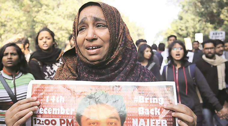 Najeeb Ahmed, Najeeb Ahmed missing, Najeeb missing case, JNU, jawaharlal nehru university, JNU missing student, delhi high court, delhi HC, indian express news, india news