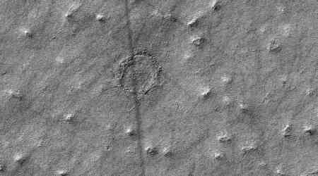NASA discovers mysterious new circle on Mars surface