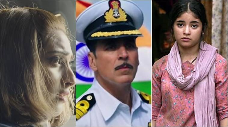 Sonam Kapoor, Akshay Kumar, zaira wasim, national film awards