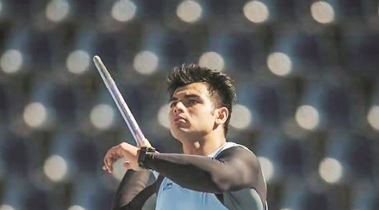 Neeraj Chopra, javelin thrower, javelin throw, javelin World Championship, Under-20 World Championship, indian express, sports news