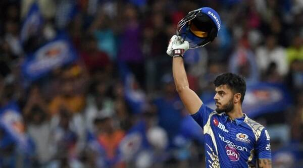 mumbai indians, gujarat lions, mi, gl, mi vs gl, nitish rana, ipl 10, ipl 2017, ipl news, sports news, cricket news, indian express