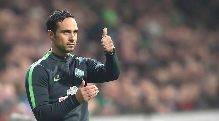 Werder Bremen, Bundesliga, Alexander Nouri, German Cup, Bremen, Borussia Dortmund, relegation, football news, sports stories, Indian Express