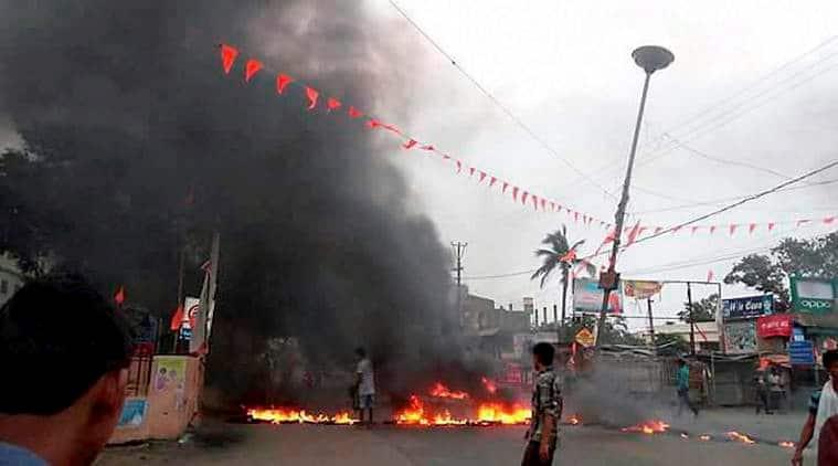 odisha clashes, odisha communal clash, bhadrak odisha violence, hindu muslim riots odisha, curfew bhadrak odisha, odisha news, india news, indian express
