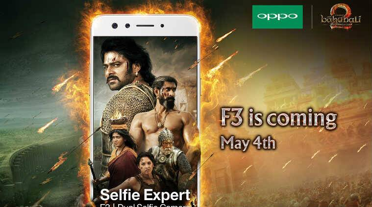 Oppo, Oppo F3, Oppo F3 launch, Oppo F3 price, Oppo F3 features, Oppo F3 specifications, Oppo F3 dual camera, Oppo F3 India launch, Baahubali, smartphones, technology, technology news