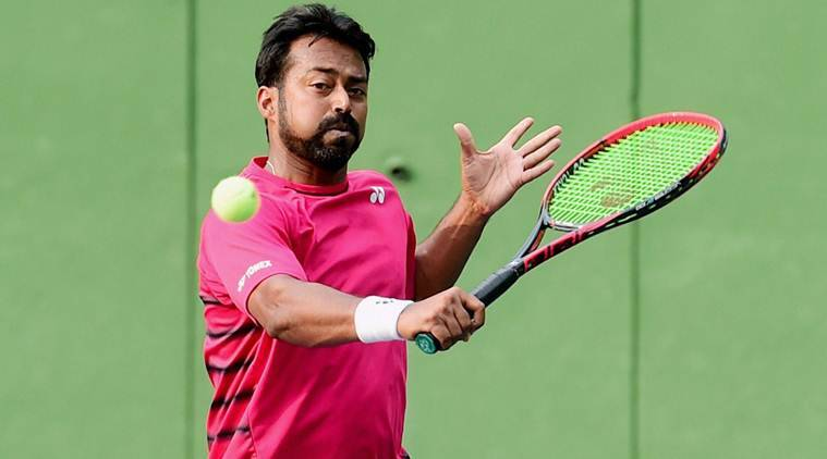 leander paes, leander paes atp geneva open, geneva open, atp world tour, leander paes geneva open, tennis news, sports news, indian express