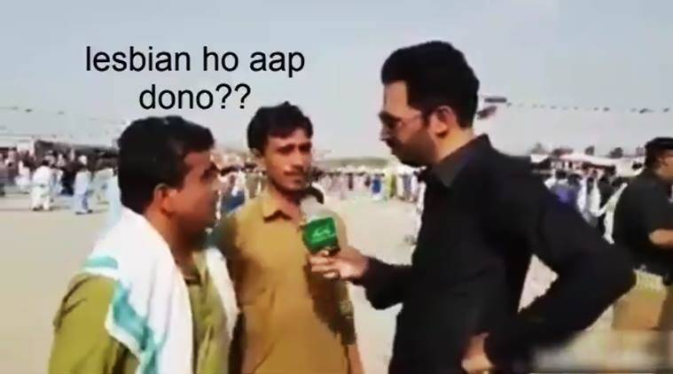 pakistan, pakistan funny videos, pakistan reporter, pakistani reporter funny questions, pakistani reporter funny interviews, pakistani reporters scandal questions, pakistani reporter asks bizarre questions, pakistani reporter asks about masturbation, pakistani reporter asks about rdx funny, pakistani reporter asks lesbian funny, indian express, indian express news