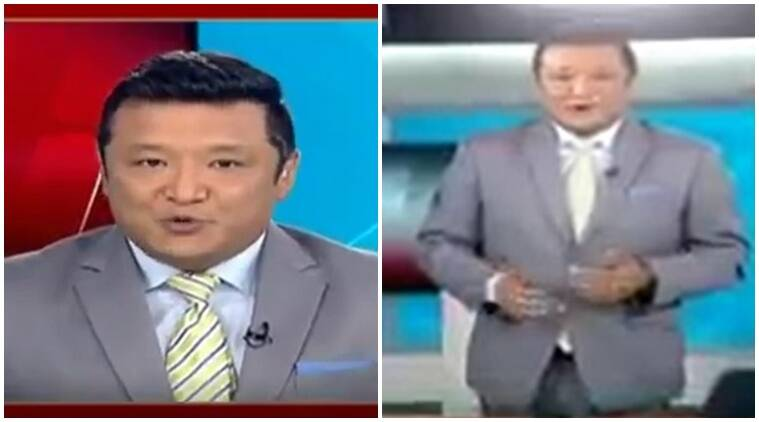 karma palijor video, viral video, twitter video, palijor video, anchor wear pants, anchor wear trousers, myth about anchors, indian express, indian express news