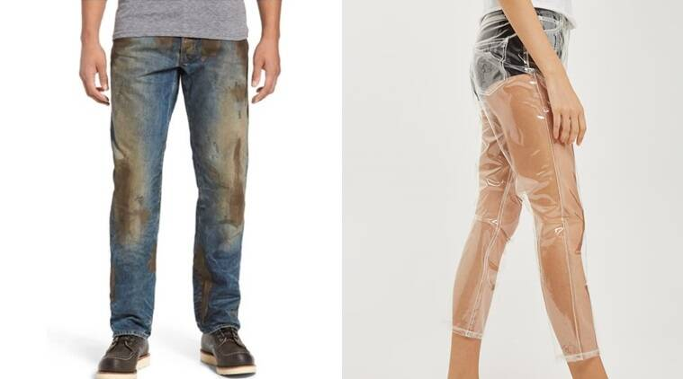 Reebok trolls Nordstrom 'muddy' jeans with $425 sweaty T-shirt