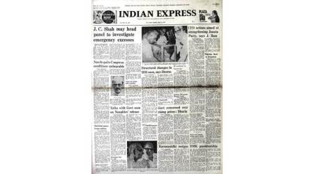 Indira Gandhi, Congress loses polls, Brahmananda Reddy, Congress new president, M Karunanidhi, Nedunchezhian, Morarji Desai, Naxals memorandum to PM, India news, Indian Express