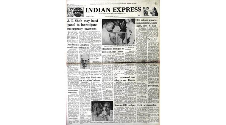 Forty Years Ago, April 12, 1977: Indira Takes Blame