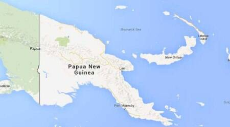 Earthquake hits off Papua New Guinea