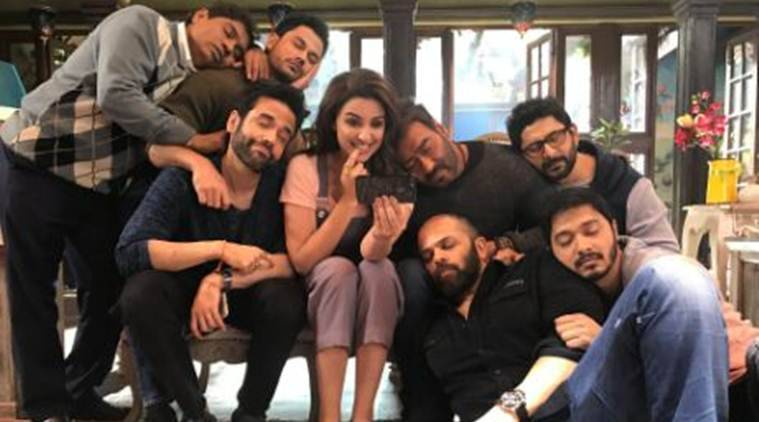 Golmaal Again: Sanjay ... Yash Chopra Family Photo