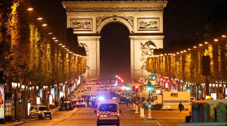 Paris shooting, paris attack, Attack in Paris, islamic state, is attack, two killed in paris attack, attack in france before elections, france presidential elections, Latest paris attack news, latest news, world news, World news, latest news, indian express