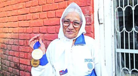 Kaur, 101, wins 100m gold at World Masters Games