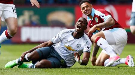 paul pogba, manchester united, manchester derby, united vs city, manchester united vs manchester city, pogba united, jose mourinho, football news, sports news, indian express