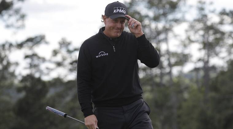 Phil Mickelson, news, Phil Mickelson updates, Augusta National, US Masters, US Masters news, sports news, sports, golf news, Golf, Indian Express