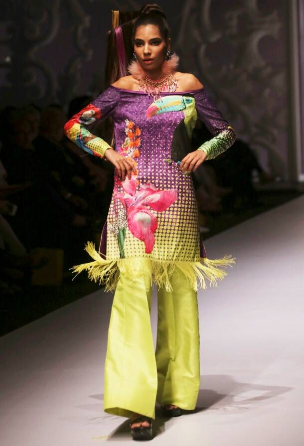 Pakistan Fashion Week 2017: It's all about bold silhouettes and bright splashes of colours