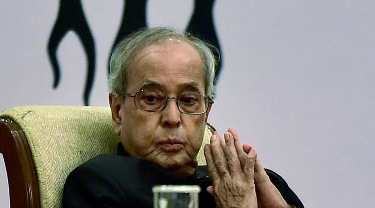 president mukherjee, pranab mukherjee, indian express