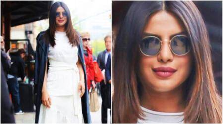 priyanka chopra, priyanka chopra actress, priyanka chopra fashion, priyanka chopra tribeca film festival, priyanka chopra 3.1 Phillip Lim, priyanka chopra quantico, priyanka chopra baywatch, priyanka chopra white maxi, fashion, lifestyle, indian express, indian express news