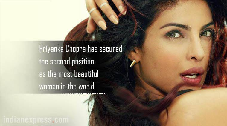 priyanka chopra, priyanka chopra world's most beautiful women list, priyanka chopra world's second most beautiful woman, priyanka chopra image