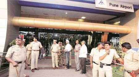 After hijack scare at three airports, security stepped up at Pune airport