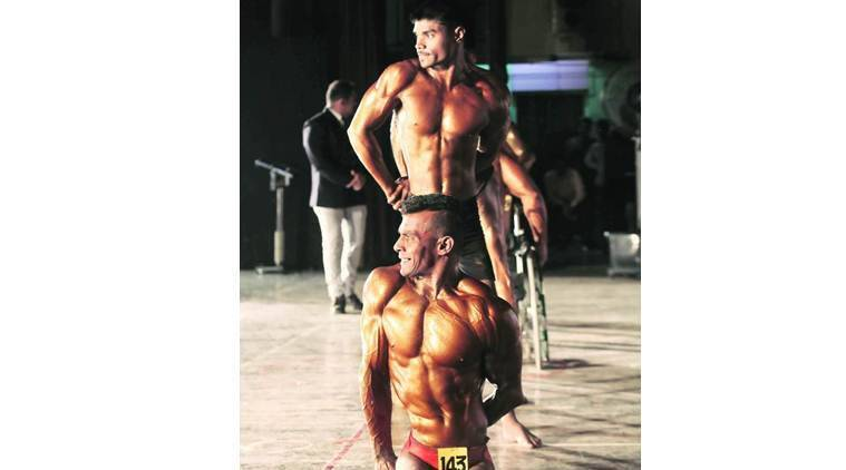 Body building competition, Pune news, Polio-afflicted body builder, Partially paralised body builder, Yogesh Mehar, India news, Latest news, World news, Latest news