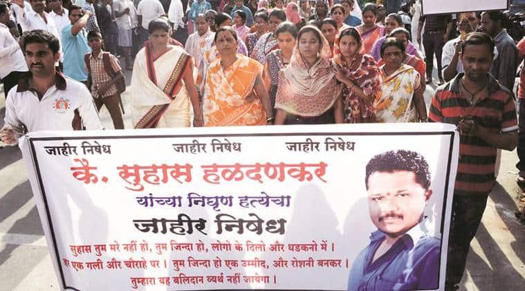 Pune, Pune RTI activist killed, RTI activist killed in Pune, suhas haldankar killed, civic lapses, Kharalwadi area, India news, Pune news, Indian express
