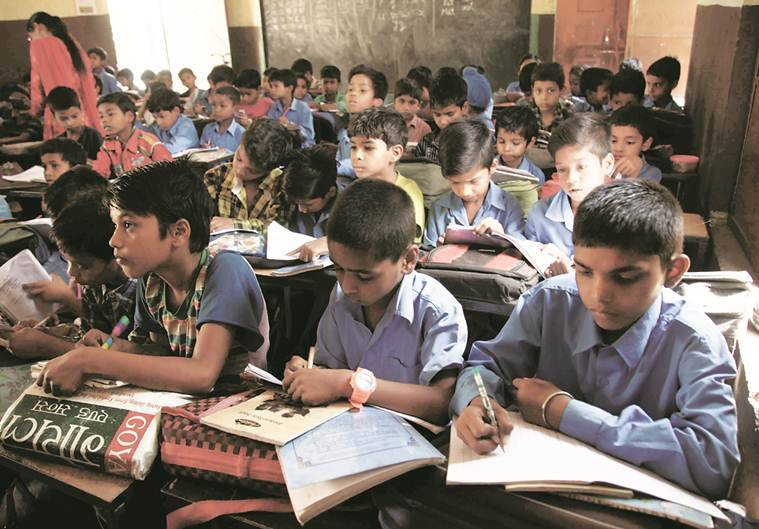 punjab government schools, class v students, hindi, mathematics, punjab students fail, punjab schools scores, punjab schools grades, punjab, students, government, schools, rte, right to education, scert, state council of educational research and training, ludhiana news, punjab news, indian express news