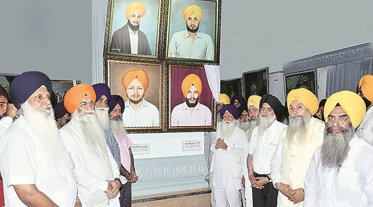 SGPC installs pictures martyrs killed in 1986, Punjab news, Punjab 1986 martyrs, India news, National news, Latest news