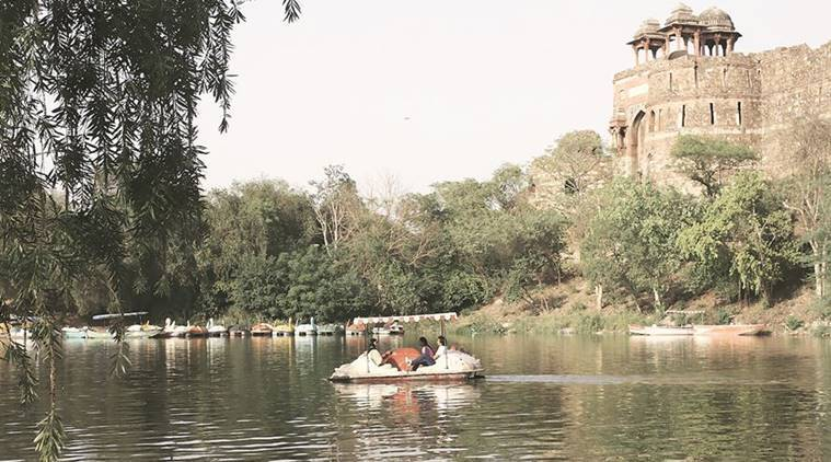 purana qila, purana qila boating, old fort boating, old fort lake, india news, delhi news