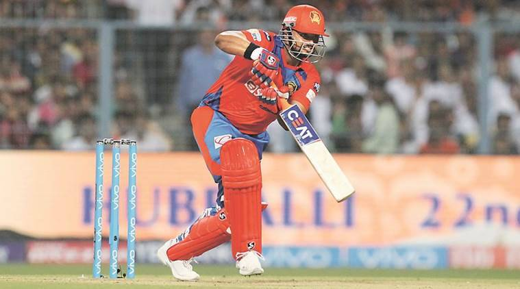 Suresh Raina, Raina, Kolkata Knight Riders, Royal Challengers Bangalore, Sunil Narine, suresh raina, raina, suresh raina ipl, ipl 2017, ipl news, kkr vs gl, kolkata vs gujarat, gujarat vs kolkata, gujarat lions, cricket news, cricket, indian express