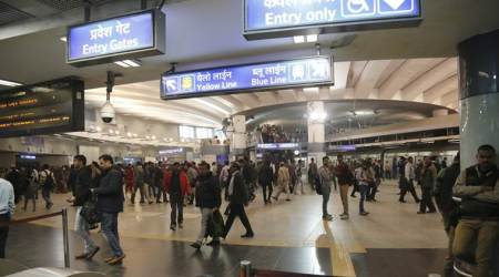 Exit restrictions at Rajiv Chowk metro station on New Year's Eve
