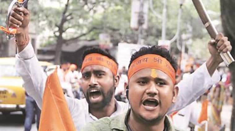 ram navami rallies, ram navmi, West Bengal, left parties, west bengal government, kolkata news, india news, indian express news