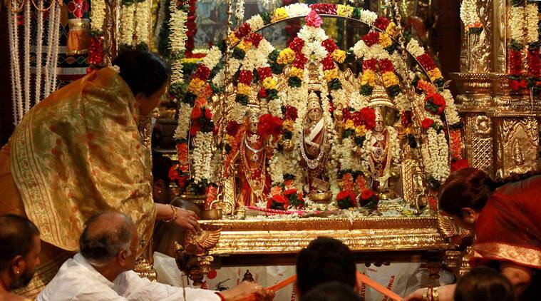 india, ram navami, festive fervor, lord rama, navratri, holy festival, president of india, pranab mukherjee, indian vice-president, mohammad hamid ansari, india news, indian express news
