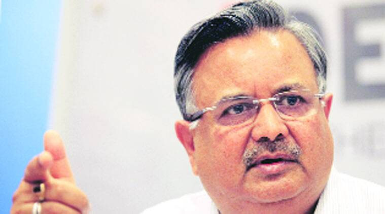 Raman Singh, Chhattisgarh CM, Chhattisgarh naxal, Chhattisgarh maoist, Chhattisgarh naxal encounter, indian express news