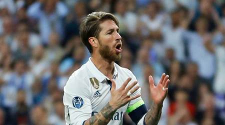 Sergio Ramos goes for mid-game toilet break against Eibar
