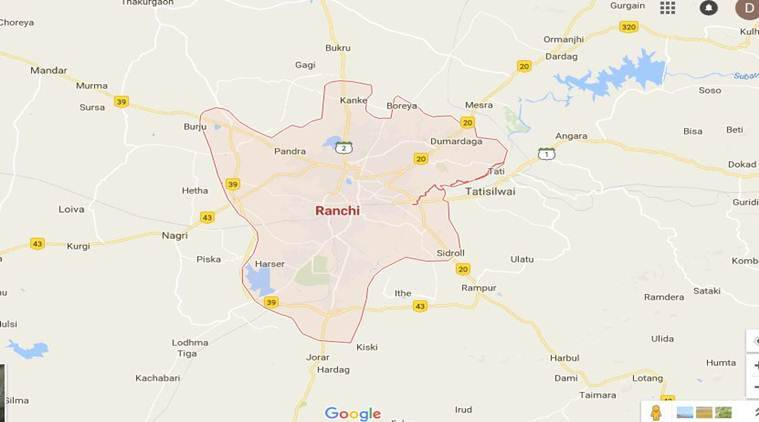 Ranchi In India Map.Bus Overturned Near Ranchi 8 Killed 56 Injured India News The