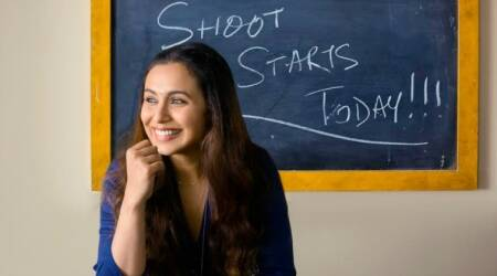 Hichki: Rani Mukerji starts shooting. Is she playing a teacher in her comeback? Watch video