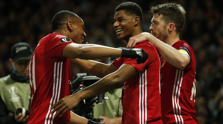 Marcus Rashford, Marcus Rashford news, v updates, Marcus Rashford goals, Marcus Rashford Manchester United, Manchester United Marcus Rashford, sports news, sports, football news, Football, Indian Express