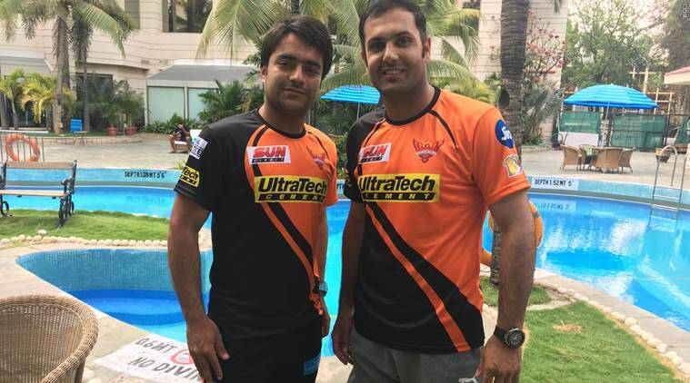 ipl, ipl 2017, ipl 10, indian premier league, srh, srh ipl, sunrisers hyderabad, rashid khan, mohammad nabi, nabi, cricket news, ipl news, cricket, indian express