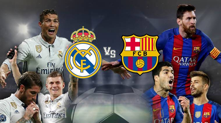 live real madrid vs barcelona