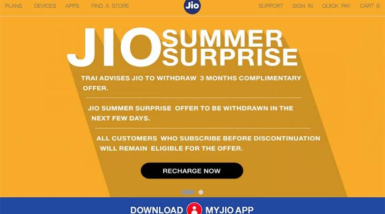 Reliance Jio, Reliance Jio Vodafone, Vodafone vs Reliance Jio, Vodafone TRAI complaint, Vodafone TRAI, Vodafone Jio Summer Surprirse, Summer Surprise offer, Summer Surprise offer cancelled